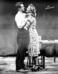 Bridget Flannery, DRA '02, and William Thompson, DRA '02, star in the School of Drama's production of A Streetcar Named Desire